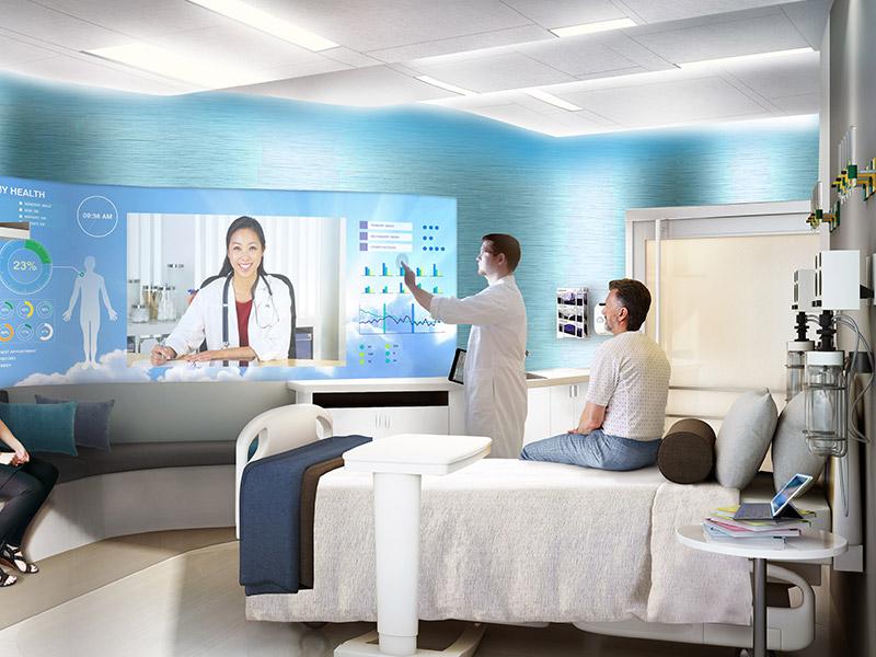 سیستم صدای بیمارستان و مطب